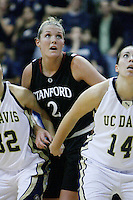 DAVIS, CA - NOVEMBER 22:  Jayne Appel during Stanford's 76-51 win over UC Davis on November 22, 2009 in Davis, California.