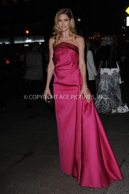 WWW.ACEPIXS.COM . . . . . .April 18, 2013...New York City....Doutzen Kroes at the Tiffany & Co. 2013 Blue Book Collection Ball at Rockefeller Center on April 18, 2013 in New York City ....Please byline: KRISTIN CALLAHAN - ACEPIXS.COM.. . . . . . ..Ace Pictures, Inc: ..tel: (212) 243 8787 or (646) 769 0430..e-mail: info@acepixs.com..web: http://www.acepixs.com .