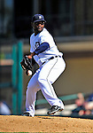 5 March 2009: Detroit Tigers' pitcher Fernando Rodney on the mound during a Spring Training game against the Washington Nationals at Joker Marchant Stadium in Lakeland, Florida. The Tigers defeated the visiting Nationals 10-2 in the Grapefruit League matchup. Mandatory Photo Credit: Ed Wolfstein Photo