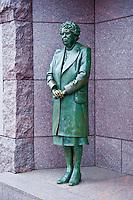 Franklin Delano Roosevelt Memorial, Eleanor Roosevelt, National Mall, Washington D.C. USA