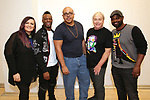 "Annastacia Victory, Rickey Tripp, , Aurin Squire,  Christopher Renshaw, Michael O. Michell  During the Open Rehearsal for the Miami New Drama's World Premiere Musical  ""A Wonderful World"" at the Ripley-Grier Studios on January 26, 2020 in New York City."