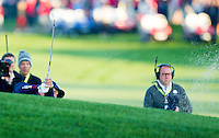 Phil Mickelson (Team USA) on the 1st during the Saturday morning Foursomes at the Ryder Cup, Hazeltine national Golf Club, Chaska, Minnesota, USA.  01/10/2016<br /> Picture: Golffile | Fran Caffrey<br /> <br /> <br /> All photo usage must carry mandatory copyright credit (&copy; Golffile | Fran Caffrey)