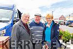 Ballyduff's Seamus, John and Bridget O'Connor at the Ballyduff Horse fair on Sunday