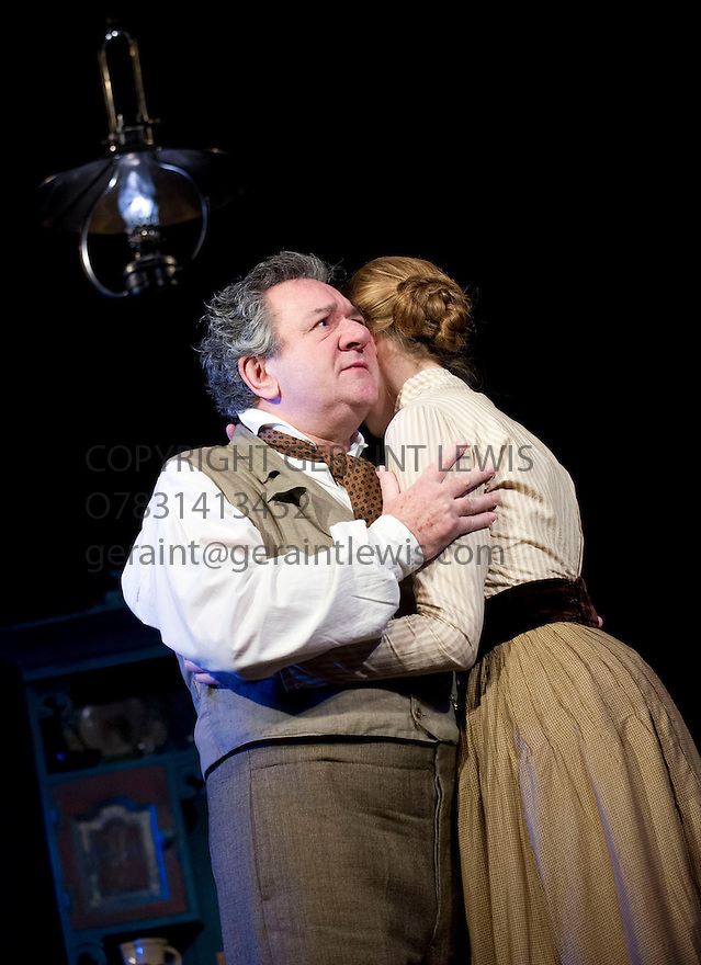 Uncle Vanya by Anton Chekov, translated by Christopher Hampton, directed by Lindsay Posner. With Ken Stott as Vanya, Laura Carmichael as Sonya. Opens at The Vaudeville Theatre on 2/11/12. CREDIT Geraint Lewis