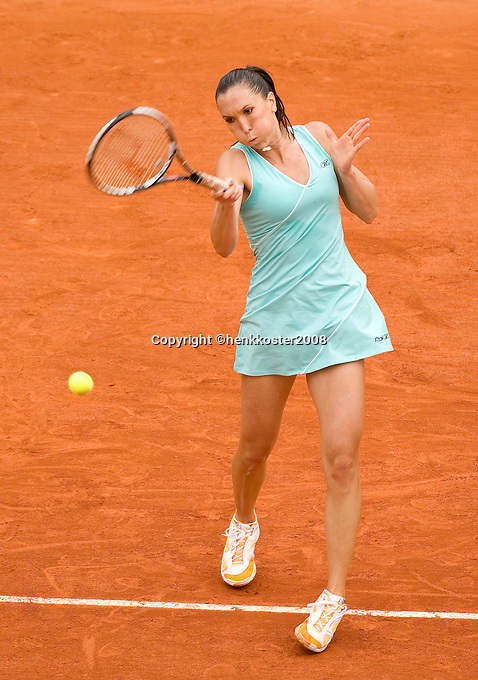 26-5-08, France,Paris, Tennis, Roland Garros, Jelena Jankovic