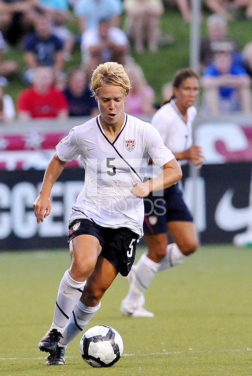 Lori Lindsey...USWNT tied Sweden 1-1 at Morrison Stadium, Omaha Nebraska.