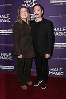 "LOS ANGELES - FEB 21:  Jenny Robertson, Thomas Lennon at the ""Half Magic"" Special Screening at The London on February 21, 2018 in West Hollywood, CA"