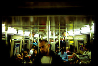 SUbway car, New York...New York City.  Street PhotographyNew York City, New York.  Street Photography from Manhattan and Brooklyn.  Subway, Union Square, Metro Stations, New York City Skyline, Michael Rubenstein, Matt Nager, Jacob Pritchard.