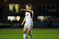 Darren Cave of Ulster in action during the Guinness Pro14 Round 15 match between the Ospreys and Ulster Rugby at Morganstone Brewery Field in Bridgend, Wales, UK. Friday 15 February 2019