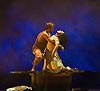 London, UK. 25.03.2016. balletLORENT's Snow White opens at Sadler's Wells Theatre for the Easter family weekend. Photo shows: Natalie Trewinnard, Gavin Coward. Photo - © Foteini Christofilopoulou.