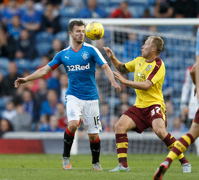 Andy Halliday and Scott Arfield