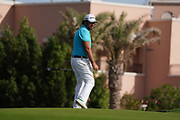 Victor Dubuisson (FRA) on the 15th during Round 3 of the Saudi International at the Royal Greens Golf and Country Club, King Abdullah Economic City, Saudi Arabia. 01/02/2020<br /> Picture: Golffile | Thos Caffrey<br /> <br /> <br /> All photo usage must carry mandatory copyright credit (© Golffile | Thos Caffrey)