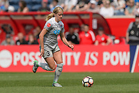 Bridgeview, IL - Saturday May 27, 2017: Makenzy Doniak during a regular season National Women's Soccer League (NWSL) match between the Chicago Red Stars and the North Carolina Courage at Toyota Park. The Red Stars won 3-2.