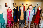 Mary Moloney and Kathleen Moloney, both from Tralee, pictured at the Rose of Tralee dresses Exhibition on Saturday afternoon last.