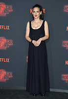 Winona Ryder at the premiere for Netflix's &quot;Stranger Things 2&quot; at the Westwood Village Theatre. Los Angeles, USA 26 October  2017<br /> Picture: Paul Smith/Featureflash/SilverHub 0208 004 5359 sales@silverhubmedia.com