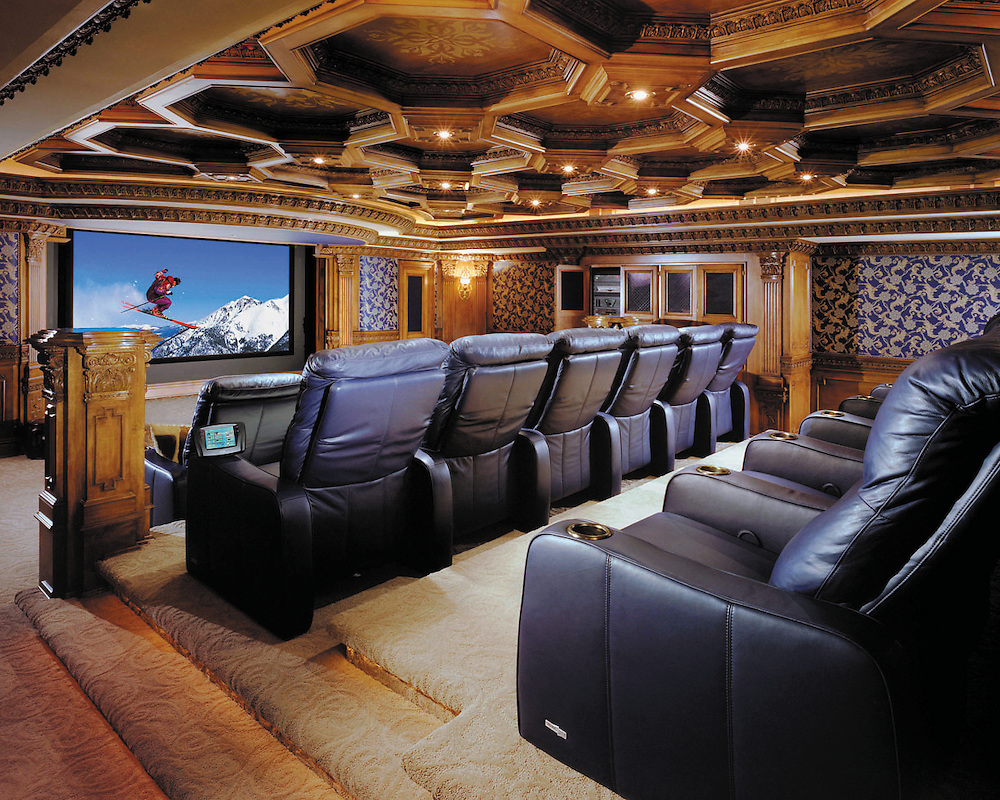 Award Winning Theater With Architectural Ceiling