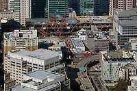 aerial photograph  Transbay Transitl Center San Francisco, California