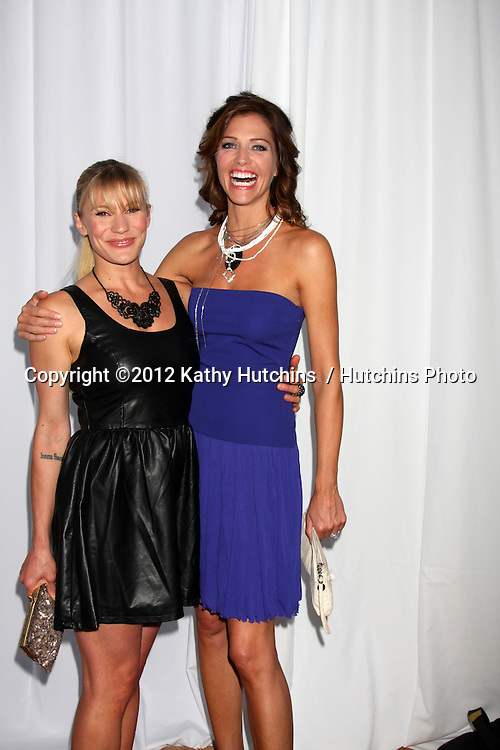 LOS ANGELES - AUG 18:  Katee Sackhoff, Tricia Helfer arrives at the 17th Annual Angel Awards at Project Angel Food on August 18, 2012 in Los Angeles, CA