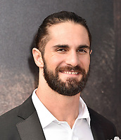 "WESTWOOD, CA - JANUARY 11: Seth Rollins attends the Premiere of Universal Pictures' ""Dolittle"" at Regency Village Theatre on January 11, 2020 in Westwood, California.<br /> CAP/ROT/TM<br /> ©TM/ROT/Capital Pictures"