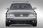 Straight front view of a 2005 VW Passat Wagon GLX V6 4Motion