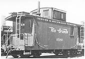 Short caboose #0580.<br /> D&amp;RGW