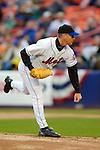 3 April 2006: Tom Glavine, pitcher for the New York Mets, on the mound during Opening Day play against the Washington Nationals at Shea Stadium, in Flushing, New York. The Mets defeated the Nationals 3-2 to lead off the 2006 MLB season...Mandatory Photo Credit: Ed Wolfstein Photo..
