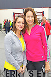 Linda Fitzgerald and Jackie Ruttledge (Tralee) who took part in the Carers 10k run on Sunday.