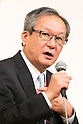 Motoi Oyama President and CEO, Representative Director of ASICS Corporation speaks during the 21st International Conference for Women in Business at Grand Nikko Tokyo Daiba on July 18, 2016, Tokyo, Japan. 55 guest speakers, principally female leaders, gathered to discuss the roles of women in politics, business and society. (Photo by Rodrigo Reyes Marin/AFLO)