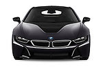Car photography straight front view of a 2019 BMW i8 Base 2 Door Coupe