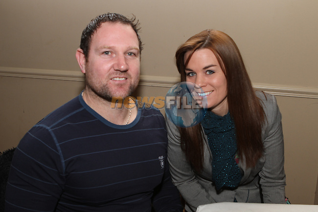Kevin and Mary McKinney at the Fundraiser for East Meath United..(Photo credit should read Jenny Matthews/NEWSFILE)...