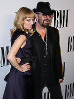 BEVERLY HILLS, CA, USA - MAY 13: Anoushka Fisz, Dave Stewart at the 62nd Annual BMI Pop Awards held at the Regent Beverly Wilshire Hotel on May 13, 2014 in Beverly Hills, California, United States. (Photo by Xavier Collin/Celebrity Monitor)