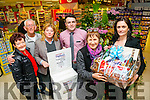 Patsy Barrett, from Team Bramble, winner of the Garvey's Supervalu TidyTowns Tralee, Volunteer of the Month, February 2016 was presented with a Garvey's Hamper by Sandra Lynch (Garvey's SuperValu, Tralee manager). Pictured with Joan O'Regan, Cllr Sam Locke, Chairman Tidy Towns Tralee, Gillian Wharton, Padraig O'Sullivan, Trainee Manager