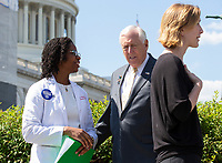 United States House Majority Leader Steny Hoyer (Democrat of Maryland) arrives to a press conference discussing the need for better humanitarian rights for refugees at the United States border in Washington D.C. on June 12, 2019.<br /> <br /> Credit: Stefani Reynolds / CNP/AdMedia