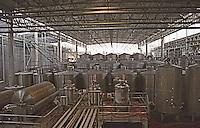 Fermentation tanks. Vina San Pedro, Region del Maule, Chile