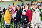 Kilmoyley supporters pictured at the senior Hurling replay against Ballyduff in Austin Stack Park, Tralee on Saturday evening last were l-r: Catherine Collins with Caoimhe and Helen O'Driscoll, Mary Egan, Darragh O'Driscoll and Didi O'Sullivan.