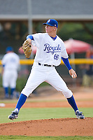 John Lamb #66 of the Burlington Royals in action versus the Kingsport Mets at Burlington Athletic Park July 3, 2009 in Burlington, North Carolina. (Photo by Brian Westerholt / Four Seam Images)