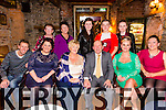 Celebrating  their 50th wedding anniversary in Finnegans restaurant on Friday night are Phyllis and Liam Maher from Cahermoneen Tralee seated centre front left to right are Ross Handbridge,Denise Handbridge,Phyllis Maher and Liam Maher,Gillian Kerins and Ruth Falvey back left to right Ann Turner,Stephen Fealy,Shannon Handbridge,Jack Maher and Ciara Handbridge