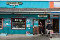 Luna Sea Fish House in Yachats Oregon