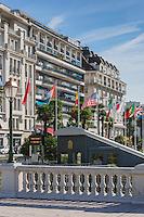 France, Aquitaine, Pyrénées-Atlantiques, Béarn, Pau: Boulevard des Pyrénées  et le funiculaire  //  France, Pyrenees Atlantiques, Bearn, Pau: Boulevard des Pyrénées and the funicular