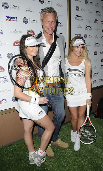 Mark Foster<br /> attended the Slazenger Wimbledon Party, Whisky Mist bar &amp; nightclub, Hertford St., London, England, UK, 27th June 2013.<br /> full length grey gray jacket jeans white shirt <br /> CAP/CAN<br /> &copy;Can Nguyen/Capital Pictures