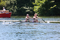 Race: 16  Event: Championship 2x<br /> Crew: 413  Club: Camb. Univ W (A)<br /> Crew: 414  Club: Reading Univ (B)<br /> <br /> Henley Women's Regatta 2018<br /> Friday<br /> <br /> To purchase this photo, or to see pricing information for Prints and Downloads, click the blue 'Add to Cart' button at the top-right of the page.