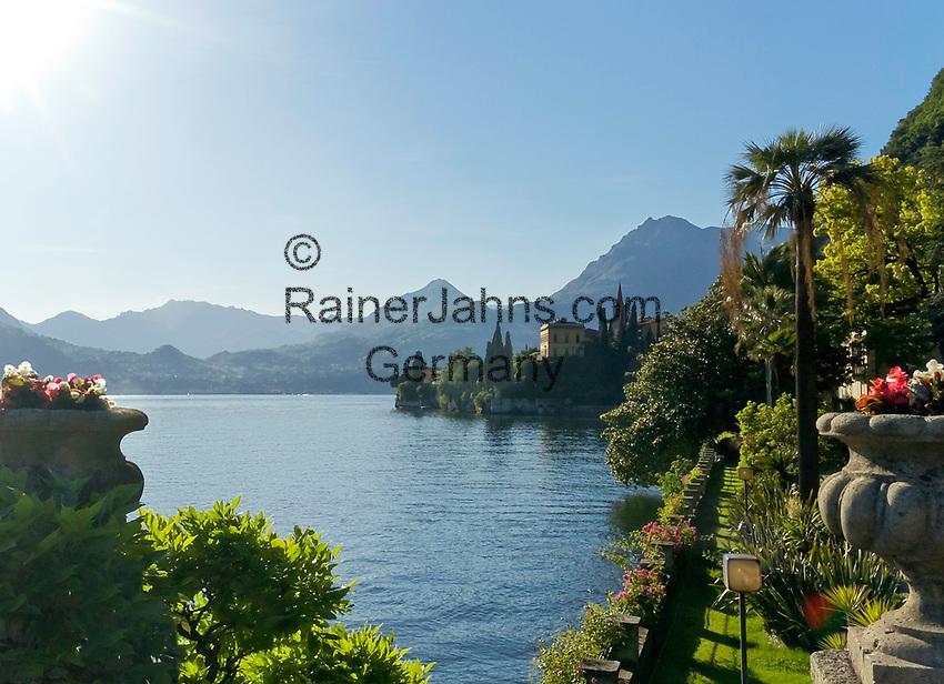 Italien, Lombardei, Comer See, Varenna: im Park der Villa Monastero   Italy, Lombardia, Lake Como, Varenna: at Park of Villa Monastero