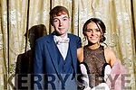 Nathan O'Riordan (Scartaglin) and Melissa Sweeney (Ballymac) at the St Pat's and Castleisland Community College Debs in the Earl of Desmond Hotel on Friday night