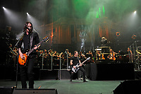 LONDON, ENGLAND - OCTOBER 3: Myles Kennedy and Brian Marshall of 'Alter Bridge' performing at the Royal Albert Hall on October 3, 2017 in London, England.<br /> CAP/MAR<br /> &copy;MAR/Capital Pictures