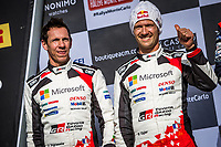 26th January 2020, Monaco, Monte Carlo;  OGIER Sebastien (FRA), INGRASSIA Julien (FRA), Toyota Yaris WRC, Toyota Gazoo Racing WRT on the podium after the 2020 WRC World Rally Car Championship, Monte Carlo rally
