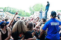 Suicide Silence performing at Heavy MTL 2011 in Montreal, QC.