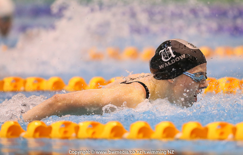 Alice Waldow. Swimming New Zealand National Short Course Championships, National Aquatic Centre, New Zealand, Saturday 6th October 2018. Photo: Simon Watts/www.bwmedia.co.nz