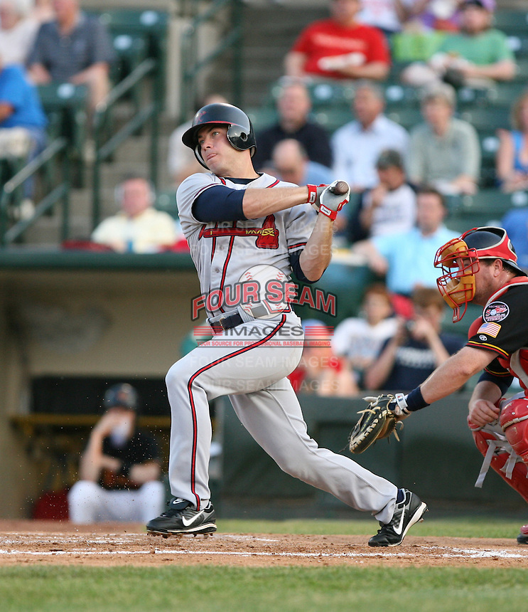 Bill McCarthy of the Richmond Braves vs. the Rochester Red Wingss:  May 31st, 2007 at Frontier Field in Rochester, NY. Photo By Mike Janes/Four Seam Images