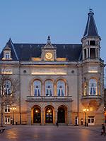 Cercle Municipal - Cercle-Cit&eacute; an der Place d'Armes, Luxemburg-City, Luxemburg, Europa, UNESCO-Weltkulturerbe<br /> Cercle Municipal - Cercle-Cit&eacute; aat Place d'Armes, Luxembourg City, Europe, UNESCO Heritage
