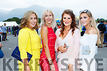 Dressed to impress at ladies day at  Killarney Races on Saturday were l-r: Aisling O'Sullivan, Sophie O'Shea, Niamh Shearman and Niamh McCarthy